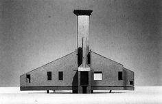 Robert Venturi, Project for a Beach House, 1959