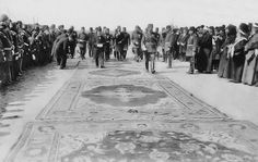 Ο σουλτάνος Μεχμέτ Ε' Ρεσάντ επισκέπτεται τη Θεσσαλονίκη το 1911