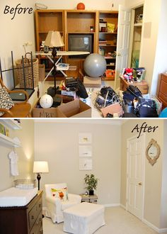 1000 images about before after on pinterest before - Declutter before and after ...