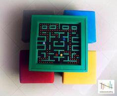 Mesa Pac-Man de madera