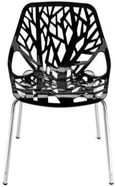 Wrought Studio Gerlind Side Chair Black Dining Chairs Modern Dining Chairs Solid Wood Dining Chairs