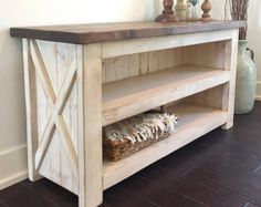 Distressed Country Farmhouse Console/Buffet by SaltCreekFarmhouse