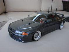 Tamiya 1/10 RC TT-01D Drift Car Kit Nissan Skyline, ESC Radio Gear BBS Hop Ups | eBay