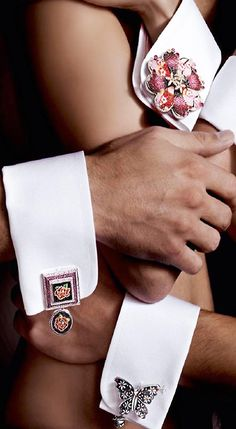 .Absolutely FABULOUS Cufflinks! -ShazB