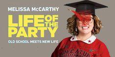 Life Of The Party Movie #movie #movies #film #cinema A Quiet Place Movie, Mahershala Ali, Going Back To College, Last Knights, John Krasinski, Ingrid Bergman, Green Books, Melissa Mccarthy, Movie Film