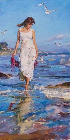 Michael and Inessa Garmash Spring Time