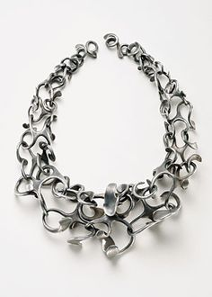 Collier in aluminum 1966, by Dorothea Pruhl