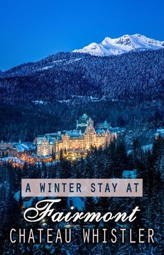 Blackcomb Peak in British Columbia is just east of Whistler, Canada's hotspot for luxury skiing. Here you'll find ski runs galore, a classic alpine ambiance, and Swiss-inspired chalets—and fun fact, they hosted the 2010 Winter Olympics sliding sports. No matter how long you're getaway to Whistler is, the Fairmont Chateau Whistler makes for perfect accommodation in this ski-crazed town, with its cozy and rustic indulgence.