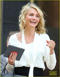 Cameron Diaz - 'The Other Woman' hair