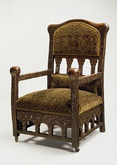 Louis Comfort Tiffany: Armchair (1992.125) | Heilbrunn Timeline of Art History | The Metropolitan Museum of Art