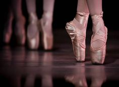 ballerinas on pointe   Our unspoken dream is to one day see them on stage and on Point.