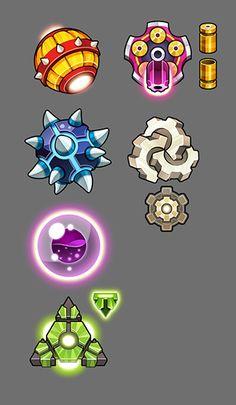 Mobile Game 2D Concept Art #1 on Behance