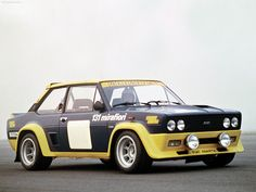 Carro do dia: Fiat 131 Abarth
