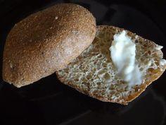 Psyllium Husk Coconut Flour Seed Rolls (low carb/gluten free) Recipe via @SparkPeople.  2.4 net carbs/roll.  Recipe makes 15 rolls.