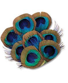 SoulFlower-Peacock Fan Hair Clip-$24.00