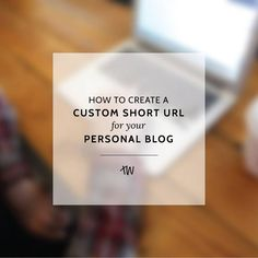 How to Create a Branded Short Tracking URL (like mybl.og/xxxxx) for Your Personal Blog... So simple! No tech knowledge required.