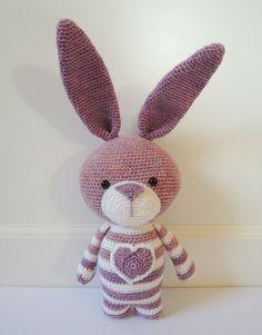 Crochet pattern Bea the rabbit Amigurumi pattern