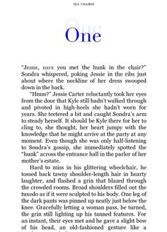 Sea Change by Leah Brent, on a Kindle Fire
