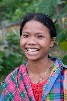 That smile. Minh Hoa, Vietnam