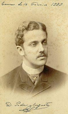 """Dom Pedro Augusto, filho da princesa Leopoldina, irmã da princesa Isabel: o chamado """"príncipe maldito"""", desejava suceder seu avô, Dom Pedro II, no trono do império."""