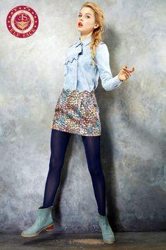 Women's Fashion Design Retro Floral Skirts