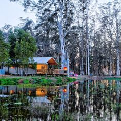 In die middel van die natuurskoon wat die Tuinroete bied. Luxury Tents, Luxury Camping, Tsitsikamma National Park, Built In Braai, Cape Town Hotels, Lake Art, Rock Pools, Garden Guide, Nature Reserve