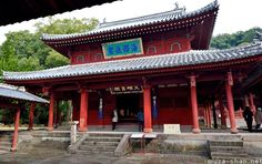 Sofuku-ji Daiohoden, the oldest building in Nagasaki