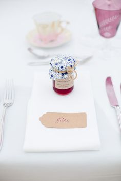 Sophie and Chris's English country garden wedding in Surrey with Eddie Judd Photography English Wedding Favors, English Country Weddings, Country Garden Weddings, English Country Gardens, Wedding Favours, Trendy Wedding, Rustic Wedding, Wedding Place Settings, Garden Wedding Decorations