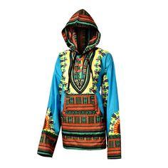 Togo Dashiki Hoodie HippieShop.com