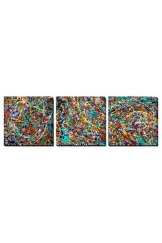 Ken Kaminesky Set of 3 Banff-Lake Louise II, Gallery Wrapped Canvases - Beyond the Rack