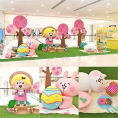 Banner Backdrop, Small Animals, Child Day, Candyland, Say Hi, Sanrio, Photo Booth, Playground, Backdrops