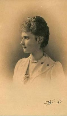 Princess Alix of Hesse, who was to be the last Empress of Russia.