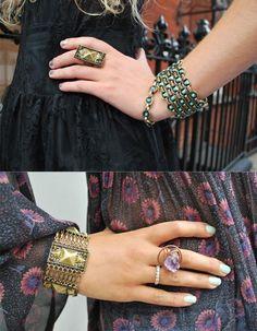 rings, bracelets