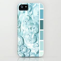 { bubbling teal } iPhone & iPod Case by Design Seeds - $35.00