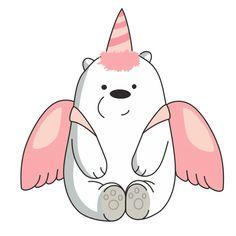Ice Bear We Bare Bears, We Bear, Cute Bear Drawings, Cute Animal Drawings Kawaii, Pop Art Wallpaper, Bear Wallpaper, Pop Art Drawing, We Bare Bears Wallpapers, Pics Art