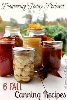 6 Fall canning recip