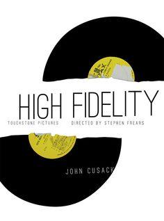 High Fidelity (2000) ~ Minimal Movie Poster by Katie Calcado #amusementphile