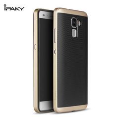New arrival Huawei Honor7 cover 100% original Ipaky PC Frame + Silicone case for Huawei Honor 7 Free shipping all in stock