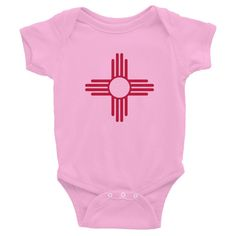 New Mexico Flag Infant Bodysuit