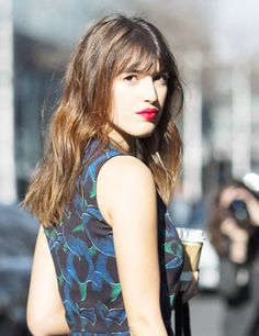I recently read an article about 7 things that French women never do to their hair; it was a sneak peak from How To Be Parisian Wherever You Are