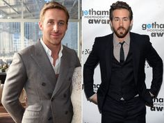 Which Ryan is more stylish -- Gosling or Reynolds? Vote in our poll. (Photos: Getty Images)