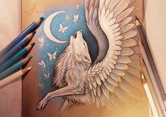 Moon song by AlviaAlcedo.deviantart.com on @DeviantArt