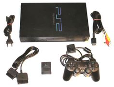 PlayStation 2 +Alle Kabel+Controller+8 MB Memory Card,PAL - SCPH-39003