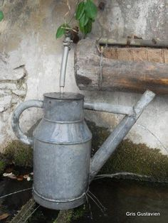 Charming watering can