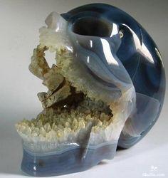 Gemstone Skull