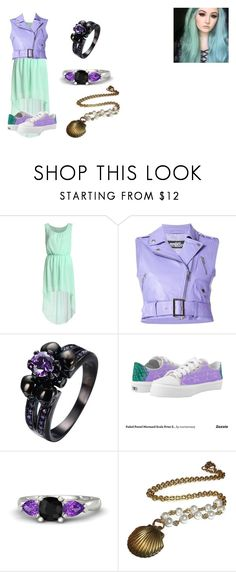 """""""Coralia: Date"""" by iluvpolyvore-498 ❤ liked on Polyvore featuring Jeremy Scott, Gemvara and Descendants"""