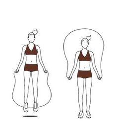 Jump-Rope Workout: The Basic Jump might have to do this with the girls