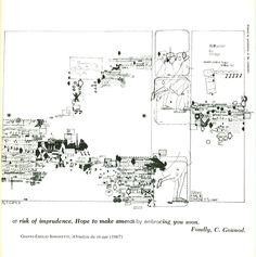 Notations by John Cage Map Design, Graphic Design, Graphic Score, Nam June Paik, Music Visualization, Experimental Music, John Cage, Sound Art, Sound Design