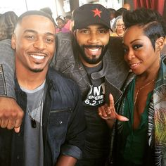 actos RonReaco Lee (Lets Stay Together), Omari Hardwick and Tichina Arnold (I believe I spelled her name wrong)
