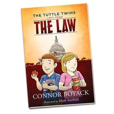 The Tuttle Twins Learn About the Law Homeschool Books, Homeschooling, Books For Teens, Books To Buy, Kids Education, How To Introduce Yourself, Your Child, Childrens Books, Twins